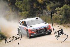 Neuville & Gilsoul  SIGNED  Hyundai i20 WRC ,  Rally Portugal  2016