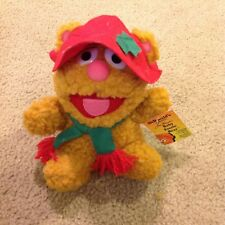 McDonalds Jim Henson Muppet Baby Babies Fozzie Plush Christmas Soft Toy Vtg 1988