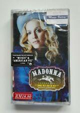 "*New & Sealed* Madonna ""Music"" Rare Malaysia Cassette Tape (9 47865-4) 2000"