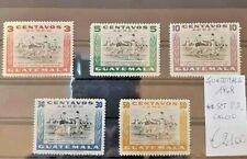 FRANCOBOLLI GUATEMALA 1948 CALCIO SPORT SERIE NUOVA MNH** SET P.A. (4 104)