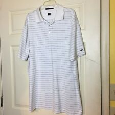 Nike Fit Dry Tiger Woods Collection Men's Striped Polo Golf Shirt  - Size XXL