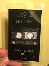 "Jay Z- ""B Sides"" Tidal.Vip Pass - Summer 2015. Super Hot!"