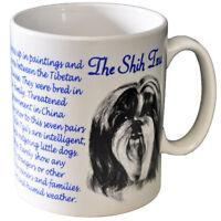 Shih Tzu - Ceramic Coffee Mug - Dog Origins Breed