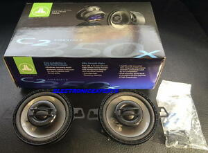 "JL AUDIO C2-350X 3.5"" 2 Way Car Speakers Silk Soft Dome tweeters C2350 Coaxial"