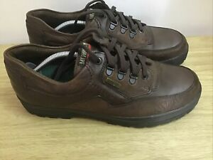 Mephisto Brown Leather Gortex Waterproof Air Relax Shoes Size UK10