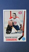 ROGATIEN  ROGIE VACHON  Custom card  MONTREAL CANADIENS 1969-70 Style  L.A Kings