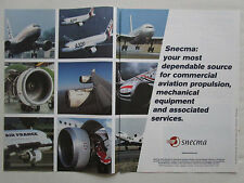 5/2001 PUB SNECMA ENGINES MOTEURS AVIATION CFM AIRBUS BOEING FALCON AD