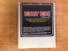 Vintage 1981 Atari 2600 Game - Donkey Kong