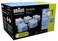 5 Braun Clean&rereinigungskartuschen 2x Ccr3 CCR