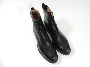 New Joseph Cheaney Mens Shoes Boots Black UK 10.5 F US 11.5 EU 44.5