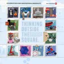 New Zealand NZ 2018 MNH Kiwi Innovation & Ingenuity 10v M/S Stamps