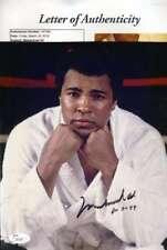 Muhammad Ali Jsa Coa Autographed 8x10 Photo  Hand Signed Authentic
