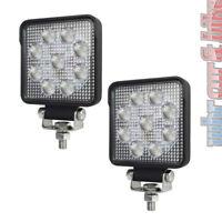 2x Hella LED Arbeitsscheinwerfer S1500 Nahfeld 12V 24V Rückfahrscheinwerfer