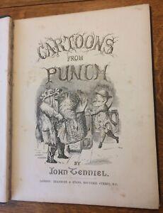 Cartoons From Punch by John Tenniel 1859 - 1862 Bradbury & Evans