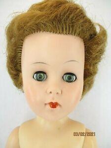 "Vintage 1950-1960's 20 HH 19"" High Heel Swivel waist  Fashion Doll"