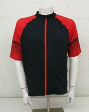 Performance Bicycle Ultra Odor Free Full Zip Jersey Black/Red Men's XXL NEW $80