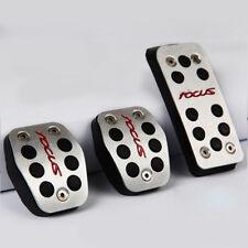 Pedales de acelerador de Coche de Aluminio Pedales De Embrague De Pedal De Freno Para Ford Focus 2 Focus