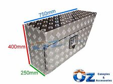 Aluminium Tool Box Right RHS Under Tray Ute Truck Trailer Caravan Storage