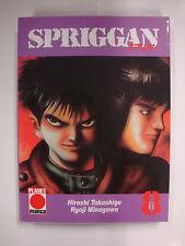 Banda Spriggan 8, Planet Manga, takashige, Minagawa