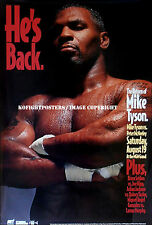 MIKE TYSON vs. PETER McNEELY / Original MGM Grand Onsite Boxing Fight Poster