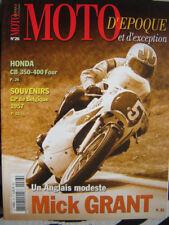 MOTO D'ÉPOQUE / HONDA CB 350 400 FOUR /  GP BELGIQUE 1957 / MIKE GRANT / 50 ITOM