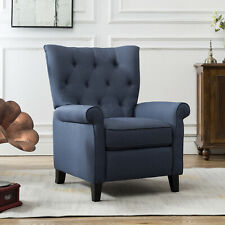 Recliner Elizabeth Accent Chair for Living Room Easy to Push Armchair Sofa Decor