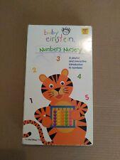 VHS Baby Einstein: Numbers Nursery (VHS, 2003)