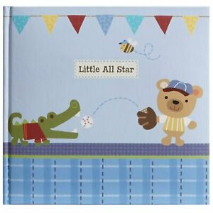 Stepping Stones Recordable Photo Album Little All Blue Star Boys Holds 10 Photos