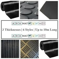 Choose from 22 Styles, Size & Thickness of Roll Mat Rubber Flooring Matting
