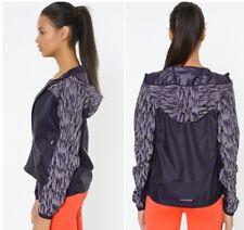 Nike Shield Fluo Veste Course, Femmes Réfléchissant Capuche Violet Dynastie XS