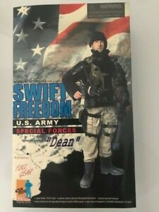 DRAGON 1/6 Swift Freedom US Army Special Forces DEAN Full Gear Military FIGURE
