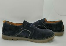 Clarks Unstructured Size 8 M Black Suede Women's Shoes Comfort Casual Slip On