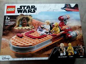 Lego Star Wars Luke Skywalker's Landspeeder 75271 New & Sealed Cheapest On EBay