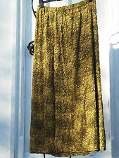 Vintage 1930's Green Lace & Beadwork Skirt ~ Stunning ~ Art Deco