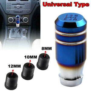 Burnt Blue Universal MT Manual 5 Speed Car Gear Lever Stick Shift Knob Shifter