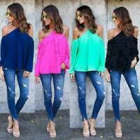 Women Long Sleeve Tank Top Fashion Casual Loose Shirt Tops Blouse T-shirt
