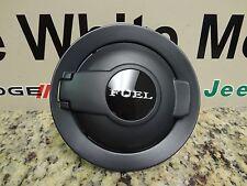 08-18 Challenger New Black Fuel Filler Door Vapor Edition Matte Black Mopar Oem