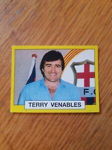 Panini Football 87 #446 Terry Venables - Barcelona - 1987