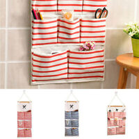 6/8 Pockets Wall Door Closet Home Hanging Storage Bag Linen Organizer Pouch zxc