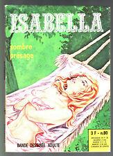 # ISABELLA n°80 # SOMBRE PRESAGE # 1976 ELVIFRANCE