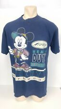 New listing Vintage Mickey Mouse T Shirt Utility Worker Heavy Duty Friends Tee One Size