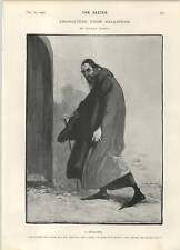 1902 Dudley Hardy Shakespeare Shylock Character Artwork