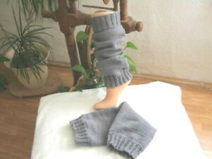 Dicke Beinstulpen Stulpen lang und dick  gestrickt