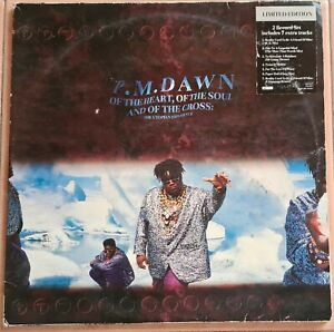 P.M.DAWN- OF THE HEART OF THE SOUL AND OF THE CROSS 1991 LTD EDITION doppio LP