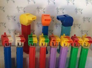 PEZ - Coach Whistles - 4.9 Stems - Choose Color