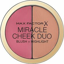 MAX FACTOR  Miracle Cheek  Duo Blush/Highlight  30 DUSKY PINK & COPPER