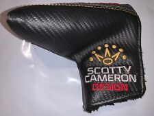 NEW *RARE* 2018 Scotty Cameron Milled Putters Headcover Mid Mallet Golo Crown