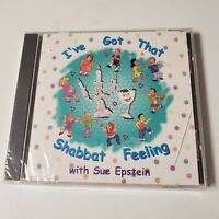 New cd I've Got That Shabbat Feeling With Sue Epstein1999 Jewish Day Of Rest