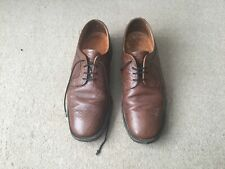 Men's Cooke Shoemakers Tan Leather Shoes - Size 9 - Made in England
