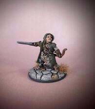 Painted WOODY, HALFLING RANGER by Reaper Miniatures AD&D Pathfinder Mordheim